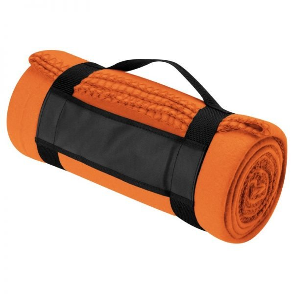 fleece_blanket_with_carry_strap_orange