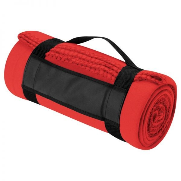 fleece_blanket_with_carry_strap_red