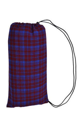 maroon_blue_picnic_blanket_with_carry_bag