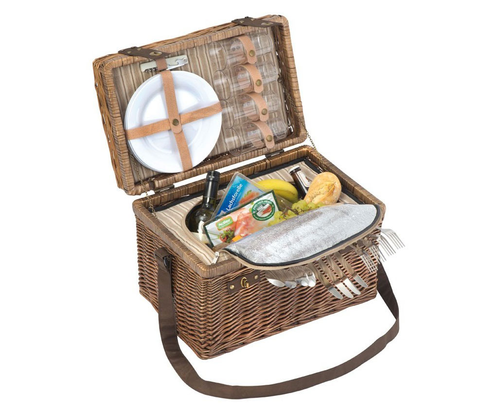 Picnic Set For 4 With Shoulder Strap And Cooling