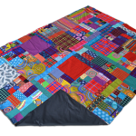 patchwork_picnic_blanket_handle_open_folded