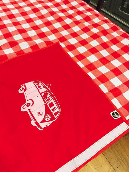 red_check_picnic_blanket_vwbus