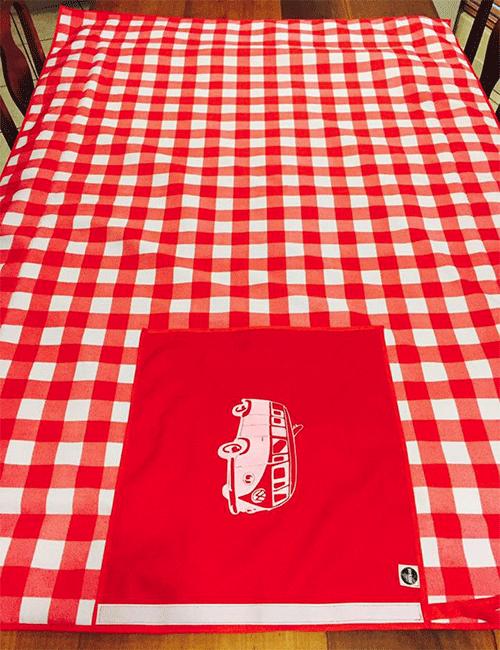 red_check_picnic_blanket_vwbus2