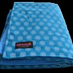 turqouise_shweshwe_padded_picnic_blanket_folded1