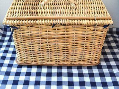 Picnic Basket and Blanket Combo
