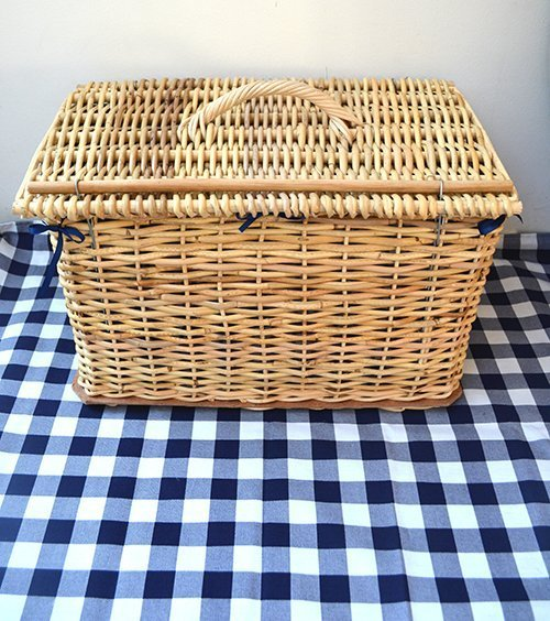 Picnic Basket and Blanket Combo
