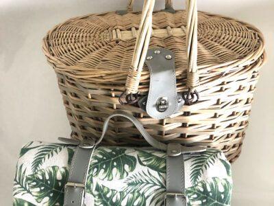 4 person wicker basket